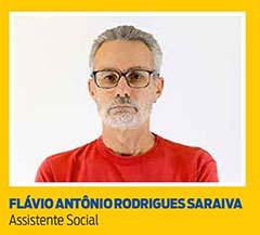 Flávio Antônio Rodrigues Saraiva, Assistente Social