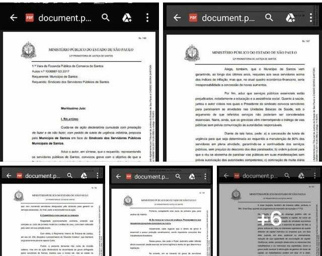 Documento do MP