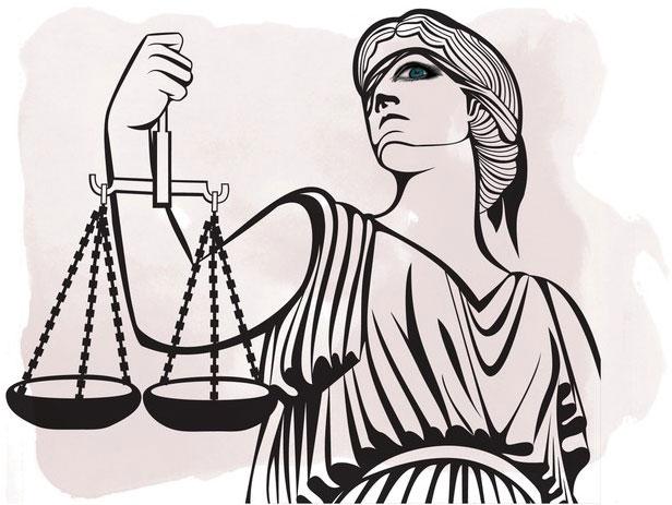 Ilustração Justiça