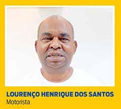 Lourenço Henrique dos Santos, Motorista
