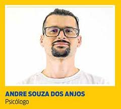 Andre Souza dos Anjos, Psicólogo