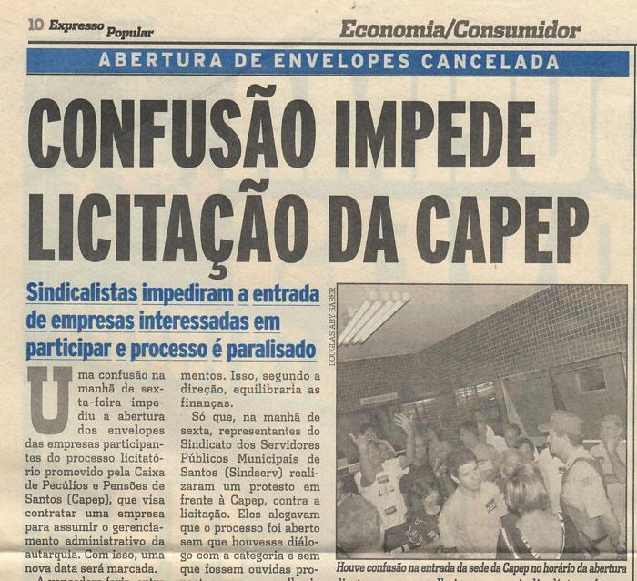 Jornal Expresso Popular, 01/12/07