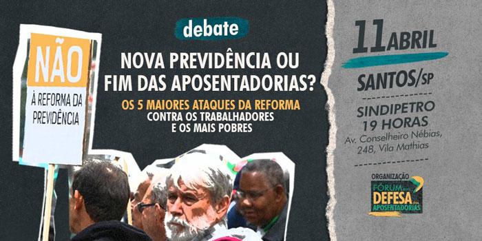 Cartaz do debate