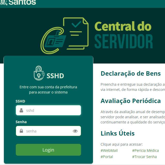 Site Central de Serviços