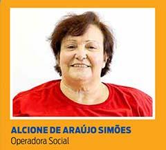 Alcione de Araújo Simões, Operadora Social