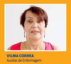 Vilma Correa, Auxiliar de Enfermagem
