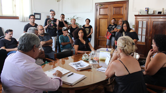 Reunião com o governo que não apresentou proposta nova