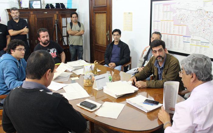 Reunião dos Técnicos de Informática com o governo