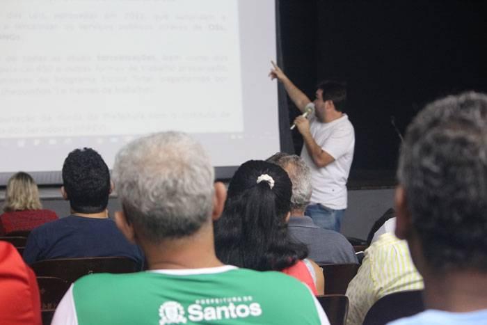 Foto da assembleia