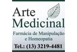 Logo ARTE MEDICINAL (FARMÁCIA DE MANIPULAÇÃO E HOMEOPATIA)