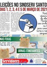 Boletim Servidores na Luta - Especial Eleição (08/02/2021)