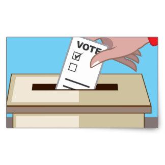 Ilustração de voto