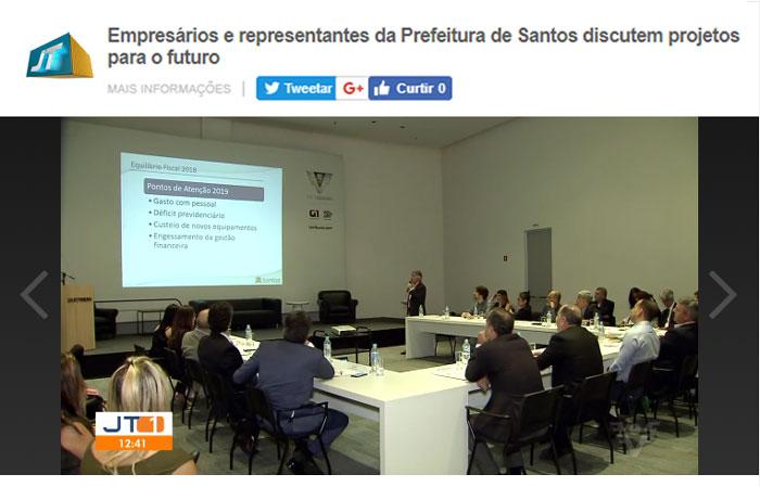 Matéria da TV Tribuna (26/12/18)
