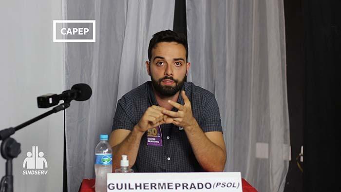 Foto do Guilherme Prado (PSOL)