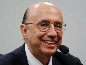 Foto do HENRIQUE MEIRELLES rindo