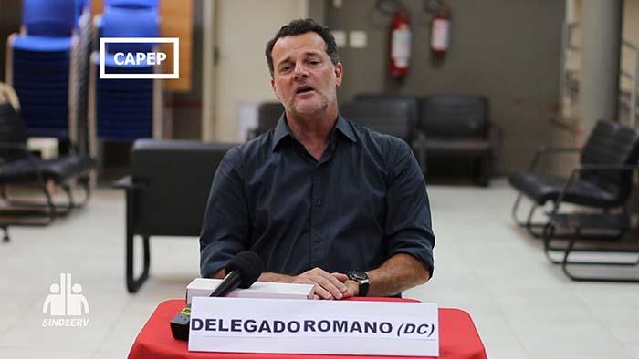 Foto do Delegado Romano (DC)